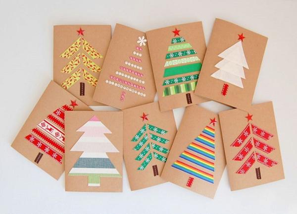 Thiệp Noel trang trí handmade 2