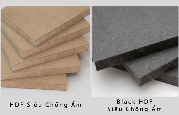HDF siêu chống ẩm và Black HDF siêu chống ẩm