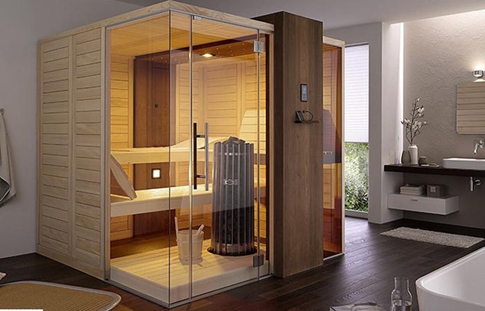 Nhu cầu thiết kế phòng xông hơi gia đình ngày càng phổ biến