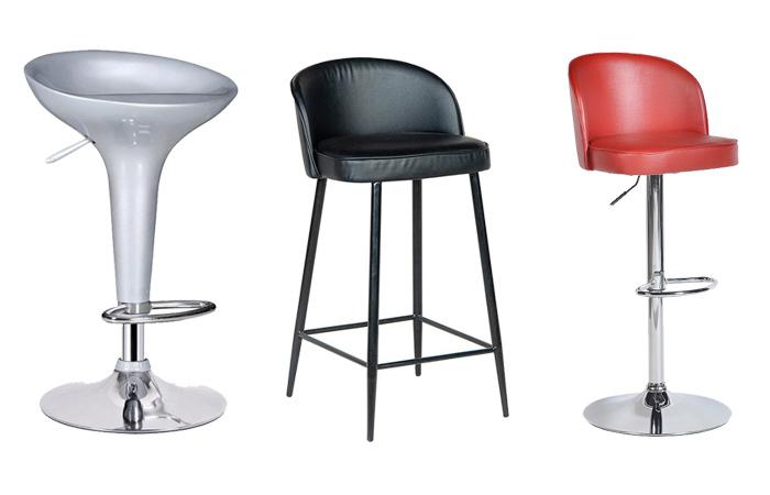 Mẫu ghế quầy bar mang đến sự sang trọng cho không gian quán trà sữa