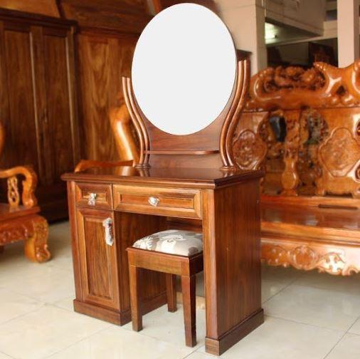 bàn trang điểm gỗ lim