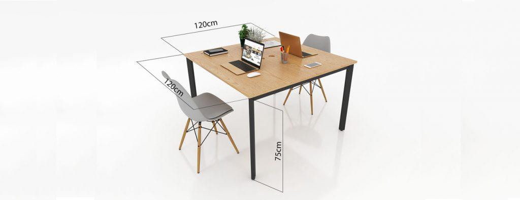 Chiều cao bàn làm việc chuẩn 2021