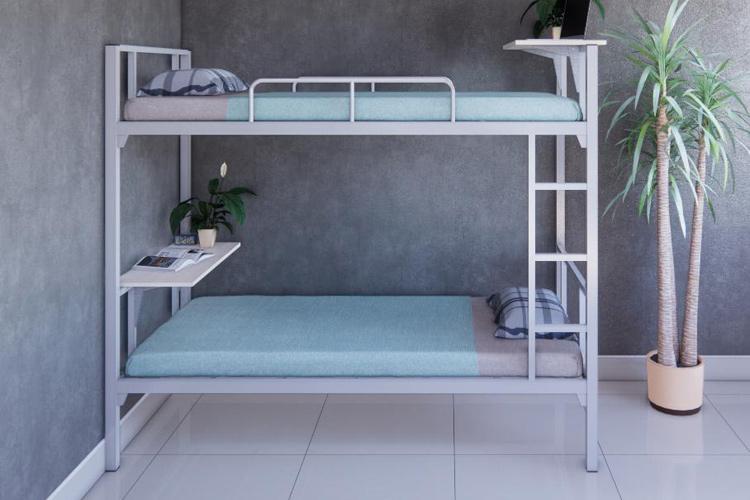Giường tầng sắt giá rẻ giúp tiết kiệm không gian và diện tích
