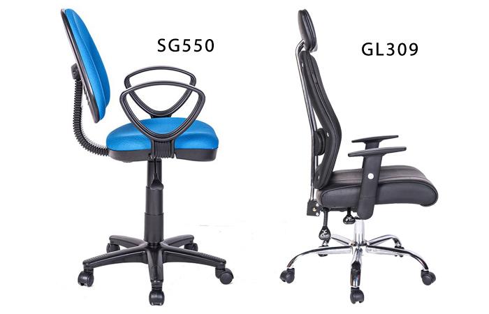 Mẫu ghế văn phòng Hòa Phát có tựa lưng phù hợp cho người đau lưng, đau cột sống