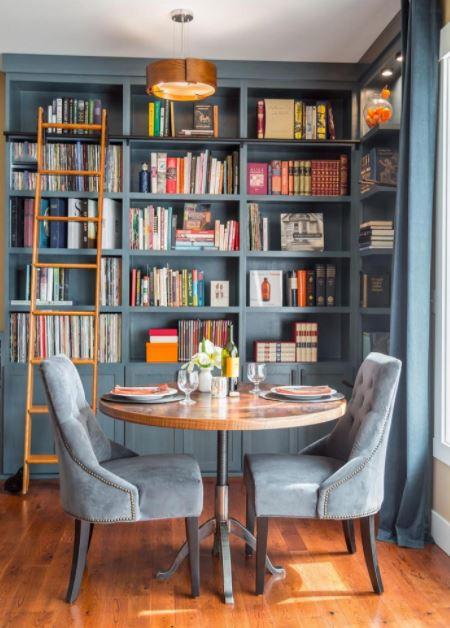 Phòng đọc kết hợp ăn sáng tiện lợi
