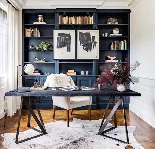 Phòng đọc sách hiện đại