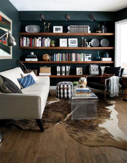 Bố trí không gian khu vực đọc sách gia đình