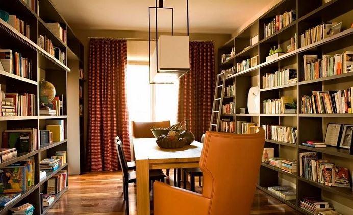 Bố trí không gian khu vực đọc sách cho gia đình
