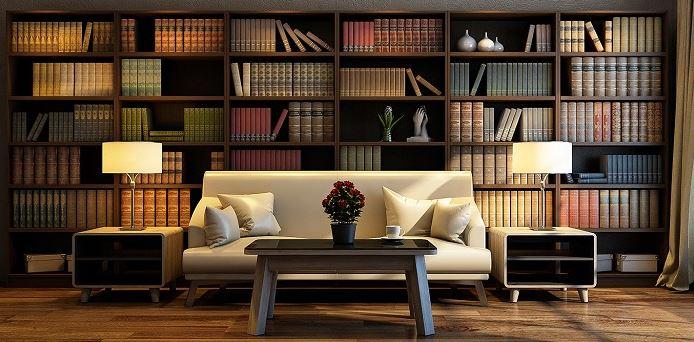 Mẫu thiết kế phòng đọc sách cao cấp