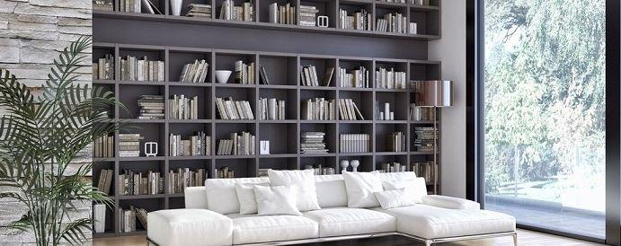 Bố trí không gian phòng sách cho gia đình
