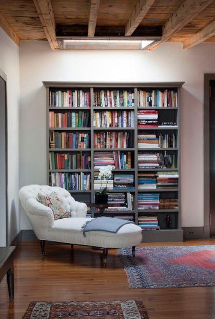 không gian phòng sách gia đình