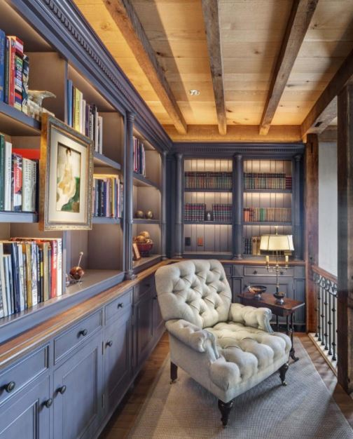 Trang trí phòng đọc sách nhỏ