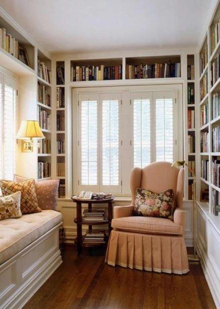 Phòng đọc sách nhỏ