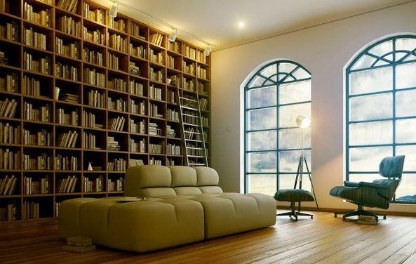 Mẫu thiết kế phòng đọc sách