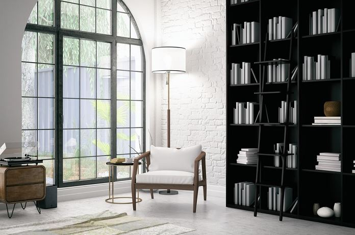 Mẫu phòng dành cho việc đọc sách