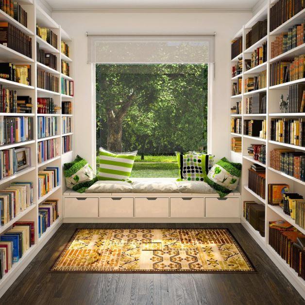 Trang trí không gian đọc sách tại nhà