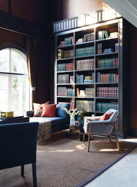 Phòng đọc sách tại nhà