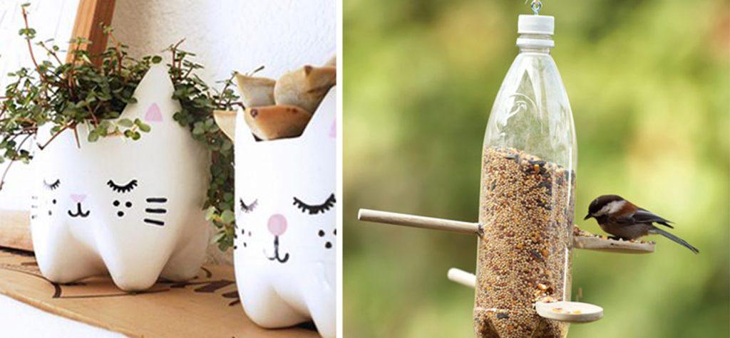 Ý tưởng tái chế chai nhựa bỏ đi thành đồ dùng hữu ích