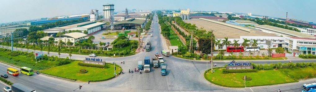 Hòa Phát được phê duyệt chủ trương mở rộng Khu công nghiệp Phố Nối A