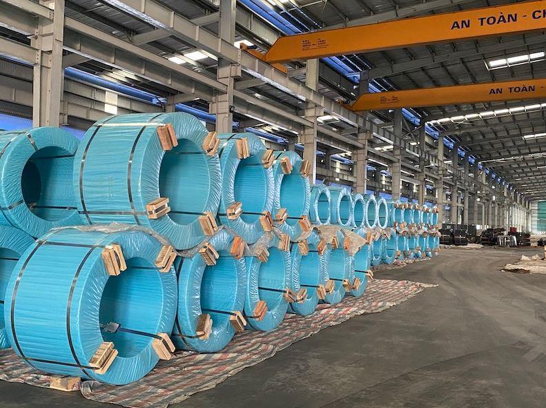 hòa phát xuất khẩu 2000 tấn cáp thép đi mỹ
