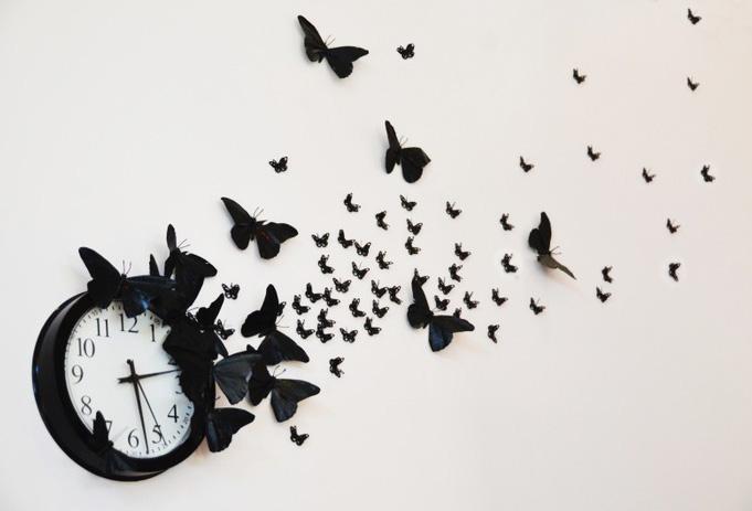 Cánh bướm nhỏ nhưng thanh thoát làm cho không gian mảng tưởng trở nên sinh động