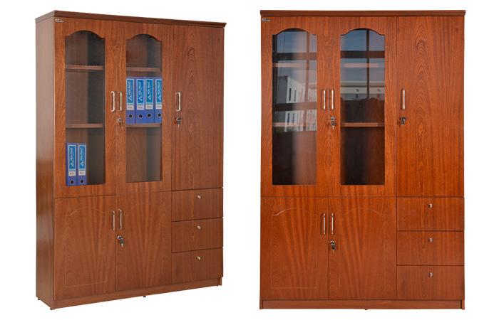 Chọn màu sắc của tủ làm việc độc đáo với mẫu tủ DC1350V9