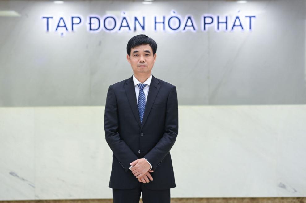 Ông Nguyễn Việt Thắng giữ chức Tổng giám đốc Tập đoàn Hoà Phát từ ngày 26/4