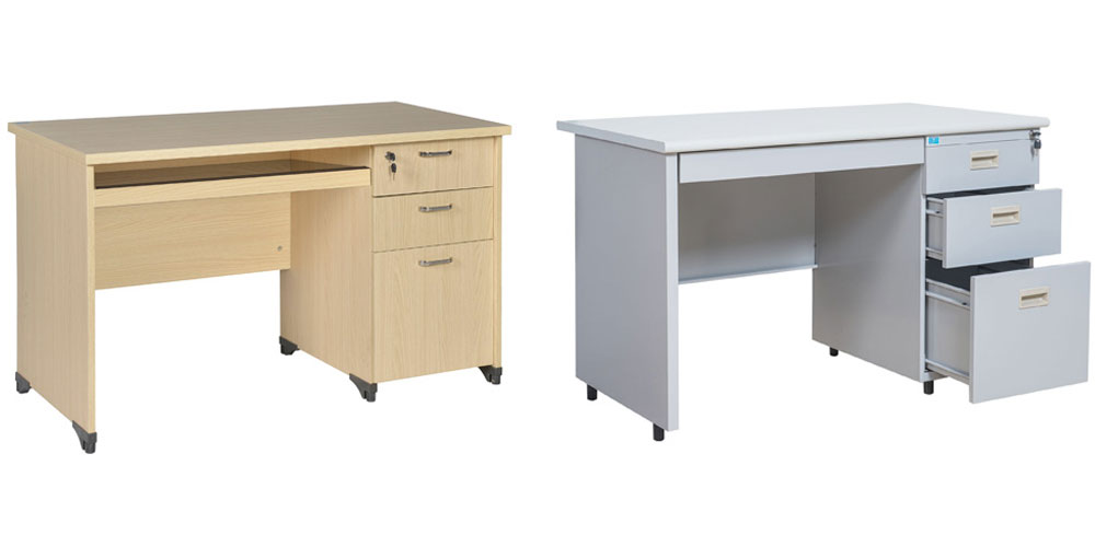 bàn làm việc 3 ngăn kéo