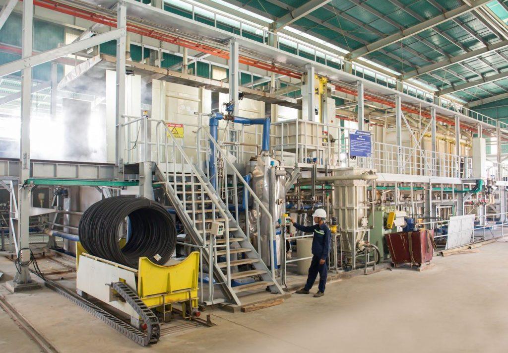 hòa phát tăng 53% sản lượng thép tút và dự ứng lực