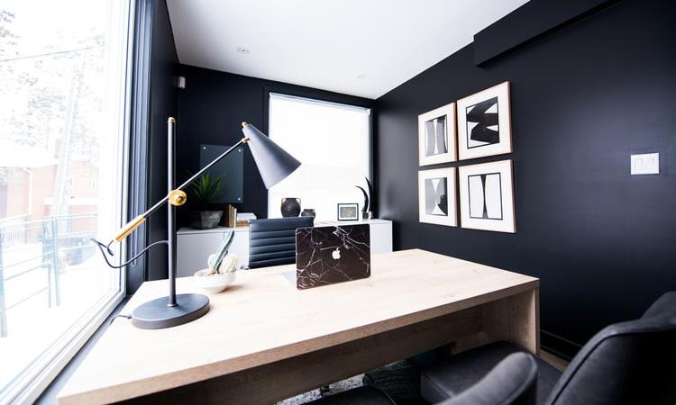 Mẫu trang trí nội thất phòng giám đốc nhỏ